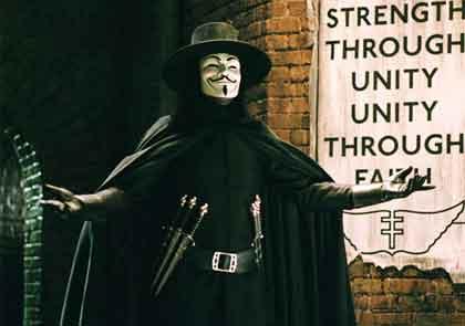 V de Vendetta y Anonymus Vendetta